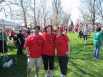 "Members of ""Team Albany Law"": Ali Chaudhry, Jillian Kasow and Babiana Stanton"