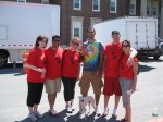 Team Albany Law at the Men's Walk on April 25th