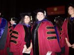 Graduates celebrate the end of an era
