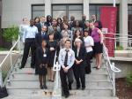 2008 NY LEO Fellows and Albany Law students