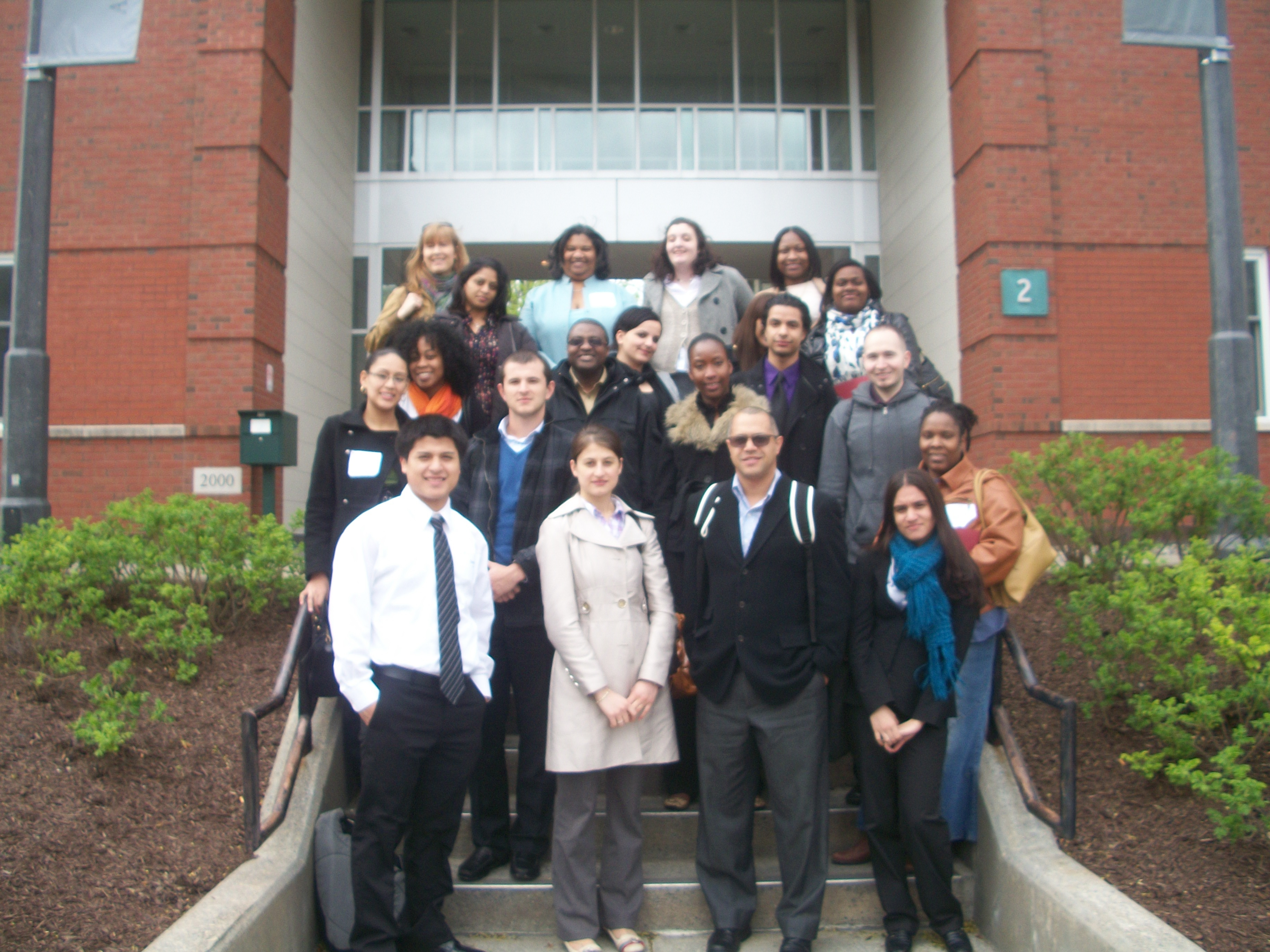 John Jay College (CUNY) pre-law students visit to Albany Law
