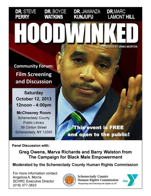 Hoodwinked Forum flier