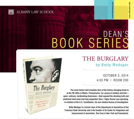 The Burglary j. edgar hoover