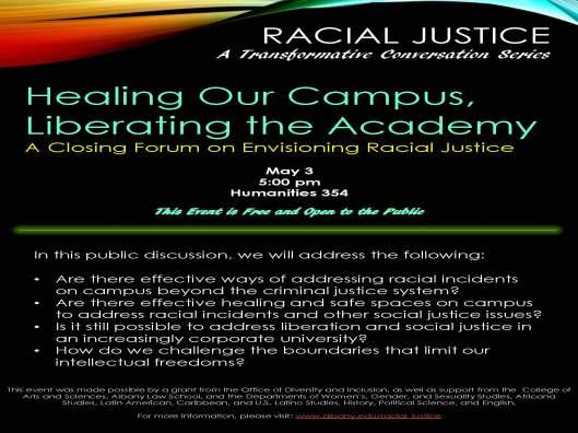 Racial Justice Series - Closing Forum